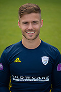 Lewis McManus of Hampshire during the 2019 press day for Hampshire County Cricket Club at the Ageas Bowl, Southampton, United Kingdom on 27 March 2019.