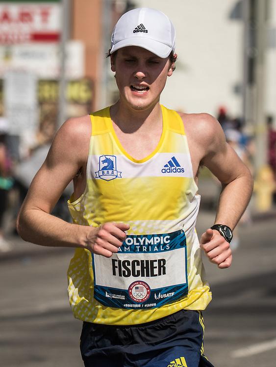 USA Olympic Team Trials Marathon 2016, Fischer, BAA