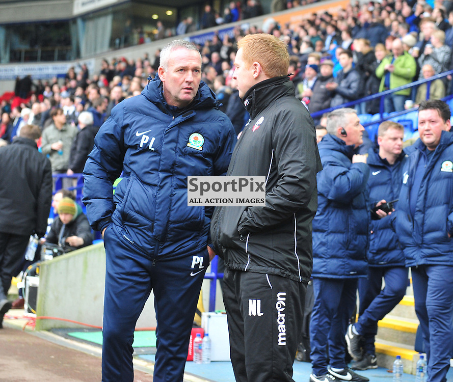Ex-Celts Paul Lambert and Neil Lennon discuss the trials of football Management down South prior to the Bolton vs Blackburn game......(c) BILLY WHITE | SportPix.org.uk