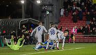 Jens Stage (FC København) klar til jubel efter scoringen til 1-0 under kampen i UEFA Europa League mellem FC København og Dynamo Kiev den 7. november 2019 i Telia Parken (Foto: Claus Birch).