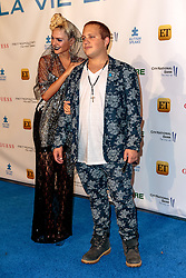 BURBANK, CA - SEPTEMBER 29 Actress Ava Capra and brother during Metropolitan Fashion Week Autism Speaks La Vie En BLUE Fashion Gala at the Warner Bros. Studios in Burbank, California USA on September 29, 2016. Byline, credit, TV usage, web usage or linkback must read SILVEXPHOTO.COM. Failure to byline correctly will incur double the agreed fee. Tel: +1 714 504 6870.