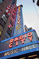 Radio City music hall in New York City October 2008