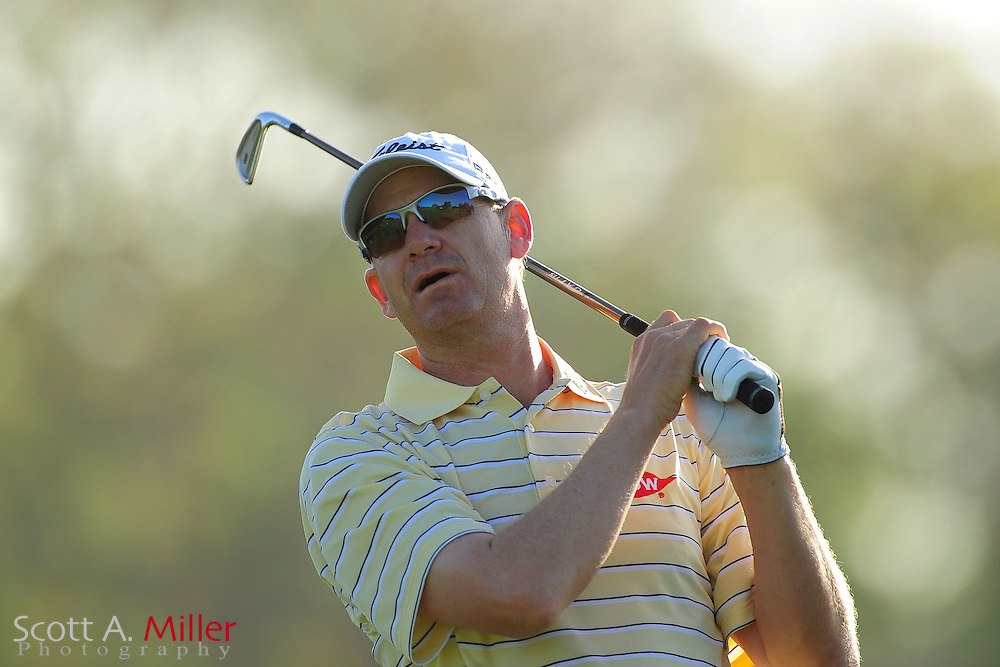 Tom Gillis during the first round of the Arnold Plamer Invitational at the Bay Hill Club and Lodge on March 22, 2012 in Orlando, Fla. ..©2012 Scott A. Miller.