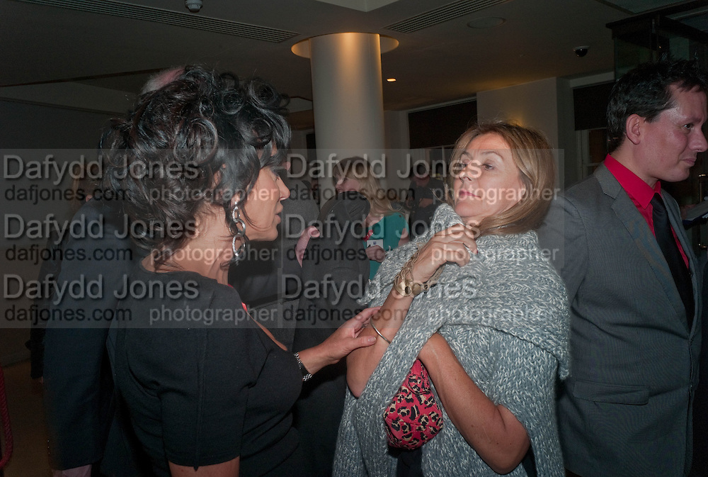 NANCY DELL D'OLIO; TIGGY MACONOCHIE; , The Lighthouse Gala auction in aid of the Terrence Higgins Trust. Christies. London. 19 March 2012.