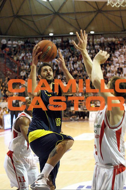 DESCRIZIONE : Pistoia Lega A2 2012-13 Giorgio Tesi Group Pistoia Sigma Barcellona<br /> GIOCATORE : Mocavero Manuele <br /> SQUADRA : Sigma Barcellona<br /> EVENTO : Campionato Lega A2 2012-2013<br /> GARA : Giorgio Tesi Group Pistoia Sigma Barcellona<br /> DATA : 14/04/2013<br /> CATEGORIA : Tiro<br /> SPORT : Pallacanestro<br /> AUTORE : Agenzia Ciamillo-Castoria/Stefano D'Errico<br /> Galleria : Lega Basket A2 2012-2013 <br /> Fotonotizia : Pistoia Lega A2 2012-2013 Giorgio Tesi Group Pistoia Sigma Barcellona<br /> Predefinita :
