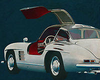 Mercedes 300SL Gullwings<br />