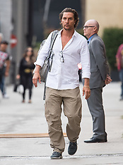 Matthew McConaughey is seen at 'Jimmy Kimmel Live'  - 22 May 2018