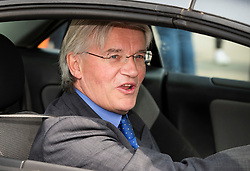© Licensed to London News Pictures. 01/05/2019. London, UK. Conservative MP Andrew Mitchell arrives at Parliament for Prime Minister's Questions. Photo credit: Peter Macdiarmid/LNP