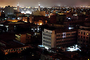 A night view of Karachi, Pakistan's main economic hub and its largest city, counting for over 18 million inhabitants.