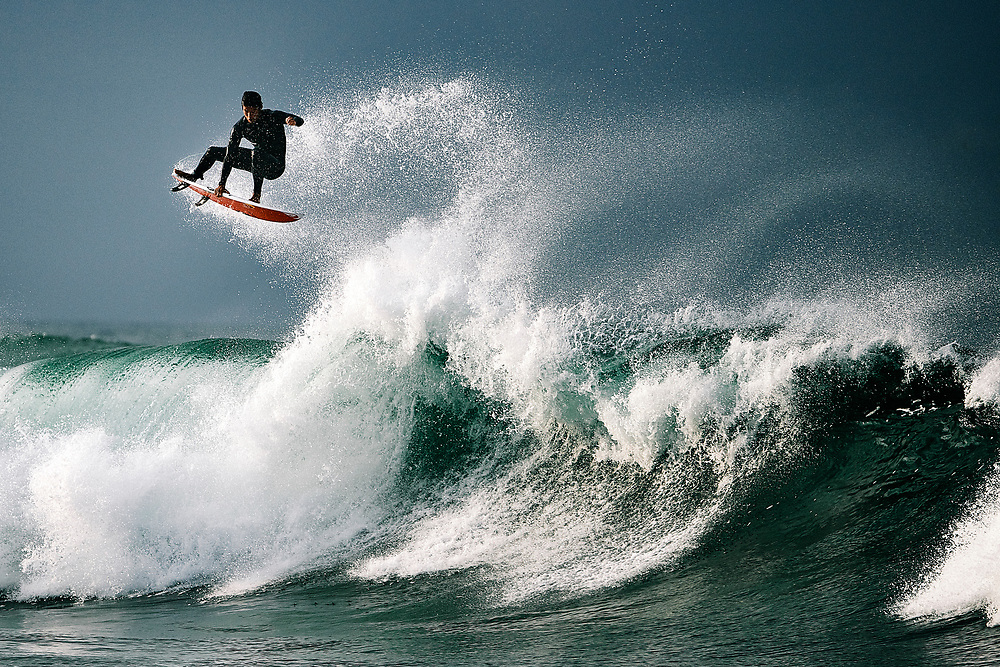 2019 March Huntington Beach surfing