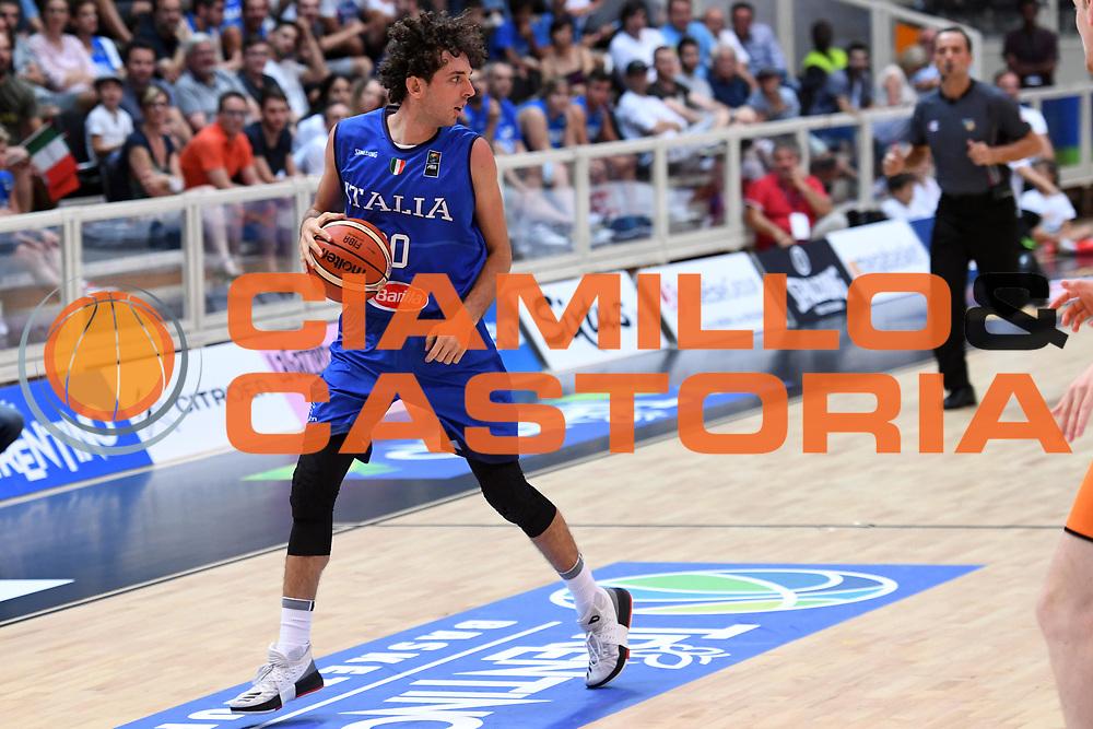 Amedeo Della Valle<br /> Nazionale Italiana Maschile Senior - Trentino Basket Cup 2017<br /> Italia - Paesi Bassi Italy - Netherlans<br /> FIP 2017<br /> Trento, 30/07/2017<br /> Foto M.Ceretti / Ciamillo-Castoria