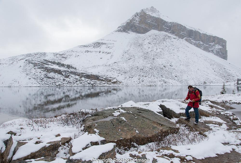 Ptarmigan lake., Alberta, Canada, Isobel Springett