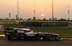 Motorsports / Formula 1: World Championship 2010, GP of Abu Dhabi, 09 Rubens Barrichello (BRA, AT&T Williams),