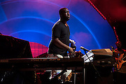August 11, 2016- Brooklyn, New York-United States: Recording Artist Robert Glasper and the Experiment perform at a Benefit Concert for BRIC Celebrate Brooklyn in Brooklyn's Prospect Park on August 11, 2016 in Brooklyn, New York. BRIC is the leading presenter of free cultural programming in Brooklyn, and one of the largest in New York City.  (Terrence Jennings/terrencejennings.com)