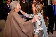 26-1-2019 AMSTERDAM - prinsesn beatrix en prinses margarita Princess Beatrix and princess Margarita during Jumping Amsterdam grand price on Saturday night<br /> Copyright ROBIN UTRECHT