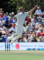 Christchurch-Cricket, New Zealand v Australia, 2nd test, day 2