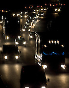 Traffic on M25 Motorway near South Mimms, Hertfordshire, United Kingdom