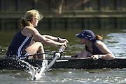 2003 - Rowing - Henley Boat Races (Women's varsity Boat Race).Qxford's women's Lightweights left Sunniva Engh and cox Caroline Smith.