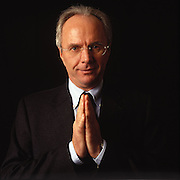 Exclusive studio shoot with England coach Sven Goran Eriksson - 2005.