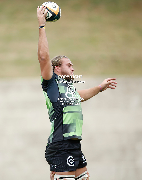 DURBAN, SOUTH AFRICA, 23, April 2016 - Wian Vosloo of the Cell C Sharks XV during the  Currie Cup Qualifiers match between The Cell C Sharks XV vs Windhoek Draught Welwitschias,King Zwelithini Stadium, Umlazi, Durban, South Africa. Kevin Sawyer (Steve Haag Sports) images for social media must have consent from Steve Haag