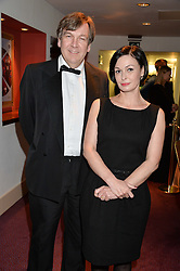 JOHN WHITTINGDALE Chairman of the Select Committee for Culture, Sport and Media, House of Commons and LIDIA SIGNONINA at the 10th anniversary Gala of the Russian Ballet Icons at the London Coliseum, St.Martin's Lane, London on 8th March 2015.