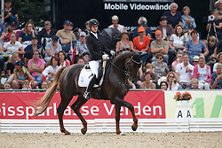Nass Vera, (GER), Quantensprung 3<br /> Final 5 years old horses<br /> World Championship Young Dressage Horses - Verden 2015<br /> © Hippo Foto - Dirk Caremans<br /> 08/08/15