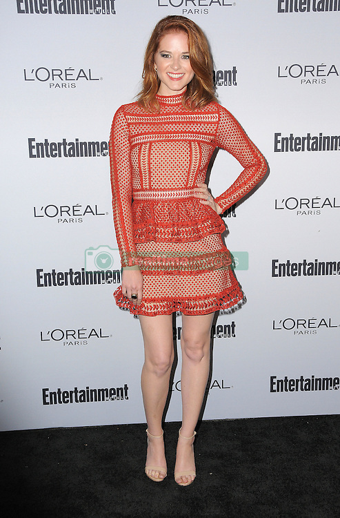 Sarah Drew bei der 2016 Entertainment Weekly Pre Emmy Party in Los Angeles / 160916<br /> <br /> ***2016 Entertainment Weekly Pre-Emmy Party in Los Angeles, California on September 16, 2016***