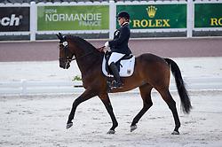 Caroline Schnarre, (GER), Del Rush - Team Competition Grade IV Para Dressage - Alltech FEI World Equestrian Games™ 2014 - Normandy, France.<br /> © Hippo Foto Team - Jon Stroud <br /> 25/06/14
