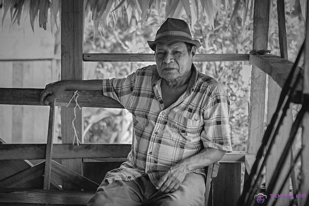 Naso Indigenous man, Teribe tribe.  Bocas del Toro, Panama. ©Tamara Him.