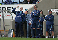 Photo: Lee Earle.<br /> Coventry City v Barnsley. Coca Cola Championship. 17/03/2007.Coventry manager Iain Dowie (L).