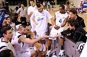 DESCRIZIONE : Vigevano LegaDue All Star Game Eurobet 2013 Est Ovest<br /> GIOCATORE : Gianmarco Pozzecco e Mitchell Poletti<br /> SQUADRA : Ovest<br /> EVENTO : LegaDue All Star Game Eurobet 2013<br /> GARA :  All Star Game Eurobet 2013 Est Ovest<br /> DATA : 03/02/2013<br /> CATEGORIA : Time Out<br /> SPORT : Pallacanestro<br /> AUTORE : Agenzia Ciamillo-Castoria/A.Giberti<br /> Galleria : LegaDue All Star Game Eurobet 2013<br /> Fotonotizia : Vigevano LegaDue All Star Game Eurobet 2013 Est Ovest <br /> Predefinita :