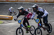 2018 Youth Olympic Games<br /> Buenos Aires, Argentina<br /> Mixed BMX - Race<br /> Motos<br /> CALKIN Cailen (NZL)<br /> GLAZERS Edvards (LAT)