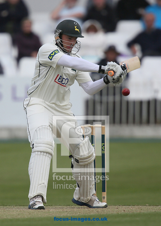 Picture by Paul Gaythorpe/Focus Images Ltd +447771 871632<br /> 05/06/2013<br /> Michael Lumb of Nottinghamshire County Cricket Club batting during Day One of the LV County Championship Div One match at Scarborough Cricket Ground.