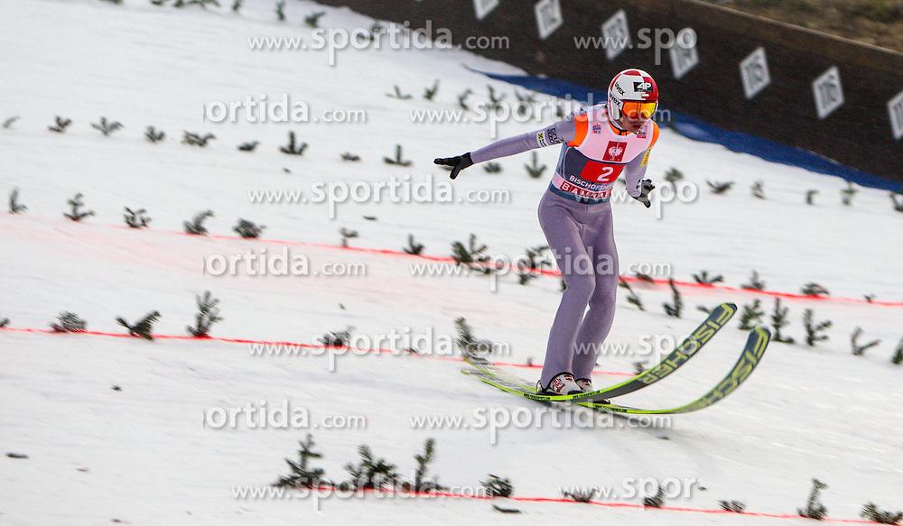 06.01.2013, Paul Ausserleitner Schanze, Bischofshofen, AUT, FIS Ski Sprung Weltcup, 61. Vierschanzentournee, Training, im Bild Kamil Stoch (POL) // Kamil Stoch of Poland during practice Jump of 61th Four Hills Tournament of FIS Ski Jumping World Cup at the Paul Ausserleitner Schanze, Bischofshofen, Austria on 2013/01/06. EXPA Pictures © 2012, PhotoCredit: EXPA/ Juergen Feichter