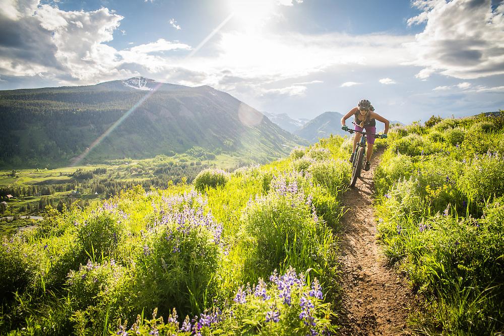 Rider: Danica Bona - Crested Butte, CO