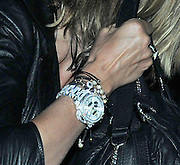 17.AUGUST.2010. LONDON<br /> <br /> SEAL AND WIFE HEIDI KLUM LEAVING NOBU RESTAURANT IN MAYFAIR AT 11.30PM WITH HEIDI SHOWING OFF HER DIAMOND ENCRUSTED WATCH BEFORE RETURNING TO THEIR LONDON HOTEL.<br /> <br /> BYLINE: EDBIMAGEARCHIVE.COM<br /> <br /> *THIS IMAGE IS STRICTLY FOR UK NEWSPAPERS AND MAGAZINES ONLY*<br /> *FOR WORLD WIDE SALES AND WEB USE PLEASE CONTACT EDBIMAGEARCHIVE - 0208 954 5968*
