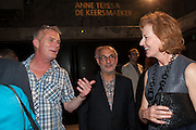 STEPHEN DALDRY; ALAN YENTOB; JULIA PEYTON-JONES, The Tanks at Tate Modern, opening. Tate Modern, Bankside, London, 16 July 2012