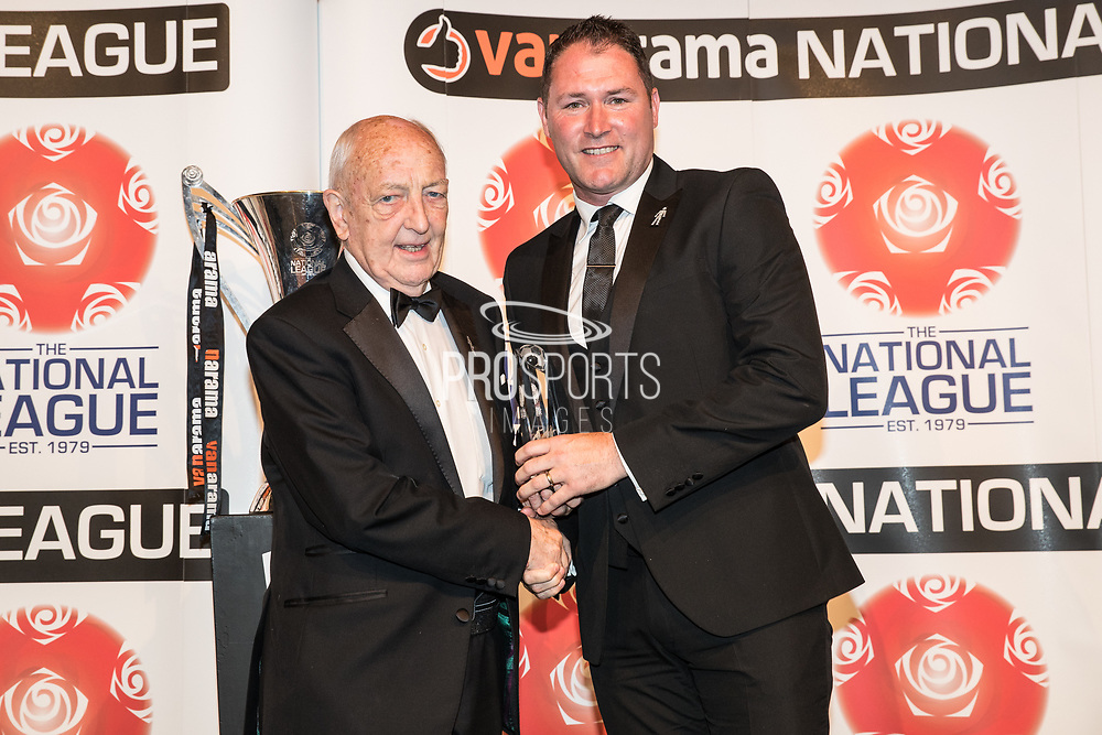Lee Bradbury during the National League Gala Awards Evening at Celtic Manor Resort, Newport, South Wales on 9 June 2018. Picture by Shane Healey.