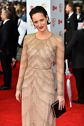 Phoebe Waller-Bridge arriving for the Virgin TV British Academy Television Awards 2017 held at Festival Hall at Southbank Centre, London. PRESS ASSOCIATION Photo. Picture date: Sunday May 14, 2017. See PA story SHOWBIZ Bafta. Photo credit should read: Matt Crossick/PA Wire