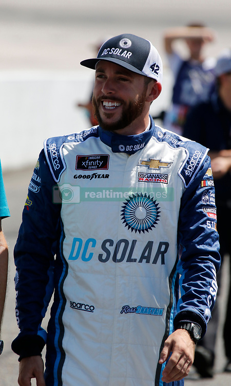 September 1, 2018 - Darlington, SC, U.S. - DARLINGTON, SC - SEPTEMBER 01: Ross Chastain, Chip Ganassi Racing, Chevrolet Camaro DC Solar (42) during the running of the 36th annual Sport Clips Haircuts VFW 200 on Saturday September 1, 2018 at Darlington Raceway in Darlington South Carolina (Photo by Jeff Robinson/Icon Sportswire) (Credit Image: © Jeff Robinson/Icon SMI via ZUMA Press)