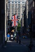 British clothing manufacturer export Ben Sherman, in Soho, New York City.
