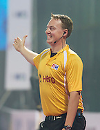 BHUBANESWAR  (INDIA)  - HERO Champions Trophy Hockey men. Day 1. Germany vs India. Umpire Coen van Bunge (neth) PHOTO  KOEN SUYK
