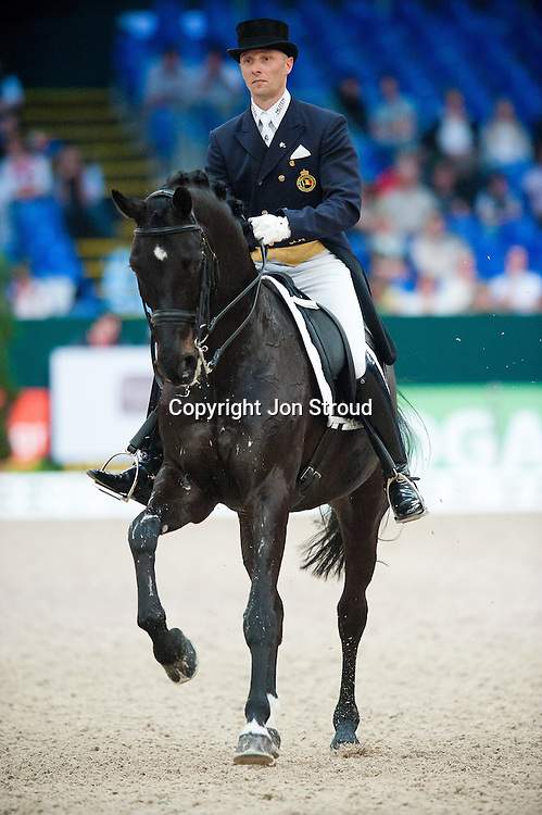 Jeroen Devroe (BEL) & Apollo van het Vijverhof - Reem Arca FEI World Cup Final Dressage - FEI World Cup Finals, Partner Pferde - Leipzig, Germany - 28 April 2011