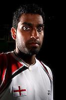 Rajiv Oueseph England Badminton, World Championship Photoshoot, NBC, Milton Keynes, England 2011