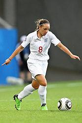 17.07.2010,  Augsburg, GER, FIFA U20 Womens Worldcup, England vs Mexico,  im Bild Jordan Nobbs (England Nr.8)  , EXPA Pictures © 2010, PhotoCredit: EXPA/ nph/ . Straubmeier+++++ ATTENTION - OUT OF GER +++++