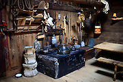 Roykstovan farmhouse museum in Kirkjub¯ur, Faroe Islands