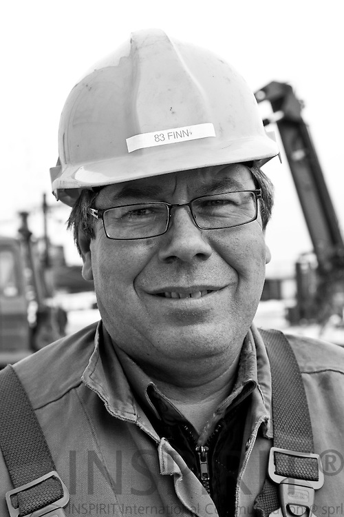 Reportage from Soeby Shipyard in Denmark 3-5 January 2011. PHOTO: ERIK LUNTANG / INSPIRIT Photo.