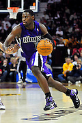 Oct. 30, 2010; Cleveland, OH, USA; Sacramento Kings point guard Tyreke Evans (13) drives to the lane during the third quarter against the Cleveland Cavaliers at Quicken Loans Arena. The Kings beat the Cavaliers 107-104. Mandatory Credit: Jason Miller-US PRESSWIRE