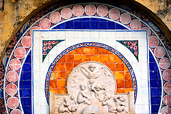 PORTUGAL SINTRA 7OCT06 - Tile mural of Moorish origin in the town of Sintra, the Portuguese royal retreat...jre/Photo by Jiri Rezac..© Jiri Rezac 2006..Contact: +44 (0) 7050 110 417.Mobile:  +44 (0) 7801 337 683.Office:  +44 (0) 20 8968 9635..Email:   jiri@jirirezac.com.Web:    www.jirirezac.com..© All images Jiri Rezac 2006 - All rights reserved.