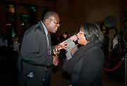 GODFRIED DONKOR; DIANE ABBOTT, Migrations private view, Tate Britain. London. 30 January 2012.